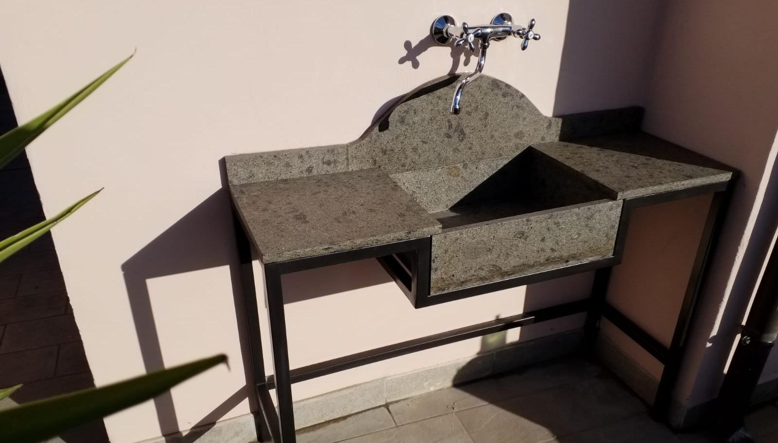 Lavandino Peperino E Base Ferro